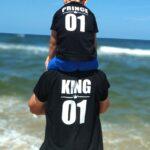 Zestaw królewski King i Prince/Princess