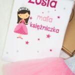 Body lub bluzka Mała księżniczka + imię