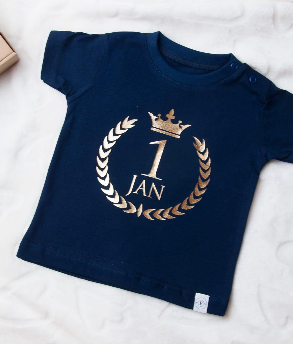379581c41 Body/koszulka na urodziny z imieniem i cyfrą - Fabryka Bodziaków