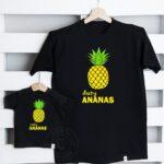Komplet Mały i Duży Ananas
