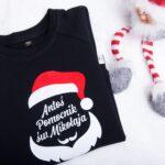 Bluza Pomocnik Świętego Mikołaja z dowolnym imieniem