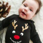 Koszulka świąteczna z nadrukiem Renifera