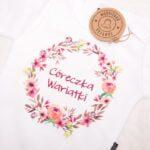Koszulka z krótkim rękawem Córeczka wariatki rozmiar 80