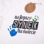 Koszulka z krótkim rękawem Najlepszy synek na świecie rozmiar 86