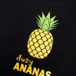 Koszulka z krótkim rękawem Duży ananas rozmiar 116