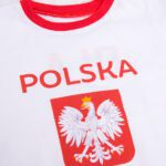 Koszulka kibica z krótkim Polska z imieniem Ola 7 rękawem rozmiar 110