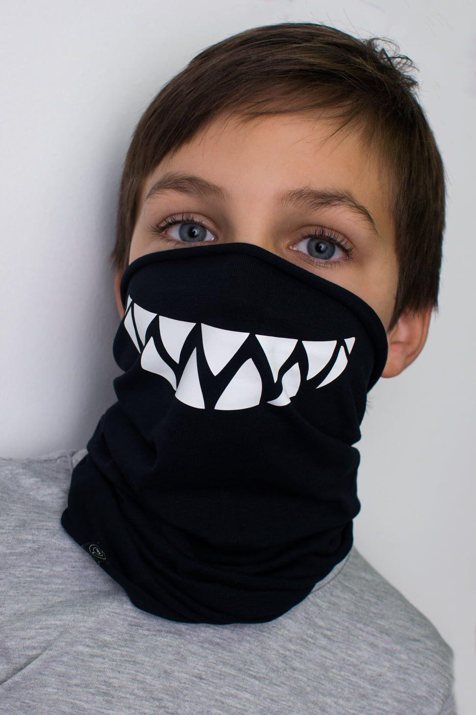 Komin z zębami
