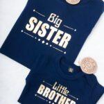Zestaw dla rodzeństwa little/big sister/brother