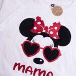 Koszulka luźna damska rozmiar XL mama myszka