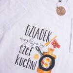 Koszulka standardowa męska rozmiar XL Dziadek szef kuchni