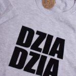 Koszulka standardowa męska rozmiar XL szara DZIA DZIA