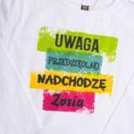 Koszulka z długim rękawem przedszkolak Zosia rozmiar 110