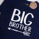 Koszulka granatowa z krótkim rękawem Big brother rozmiar 110