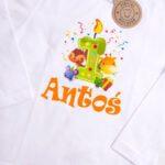 Koszulka z długim rękawem rozmiar 92 na roczek z imieniem Antoś