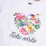 Koszulka z krótkim rękawem Taka córka koliberek rozmiar 98