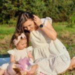 Białe sukienki dla mamy i córki