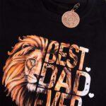 Koszulka męska czarna rozmiar S Standard Best dad ever