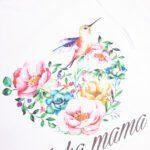 Koszulka biała damska standard Jaka mama rozmiar L